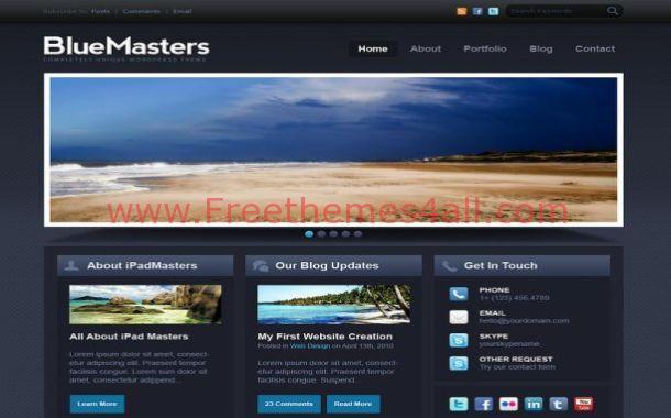 Free Drupal Themes - Freethemes4all