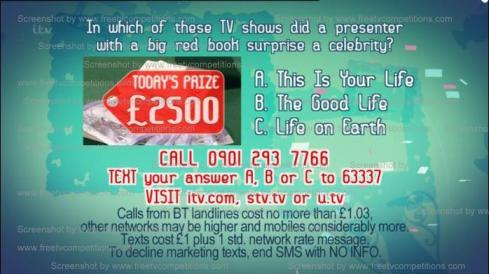 Dickinson's Real Deal Competition Sunday 21 April 2013 Free entry