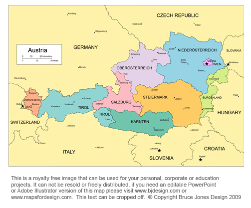 Free Maps of European Countries, printable, royalty free jpg You Can