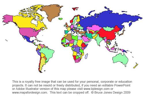 World Countries Maps, Printable, Royalty Free, jpg