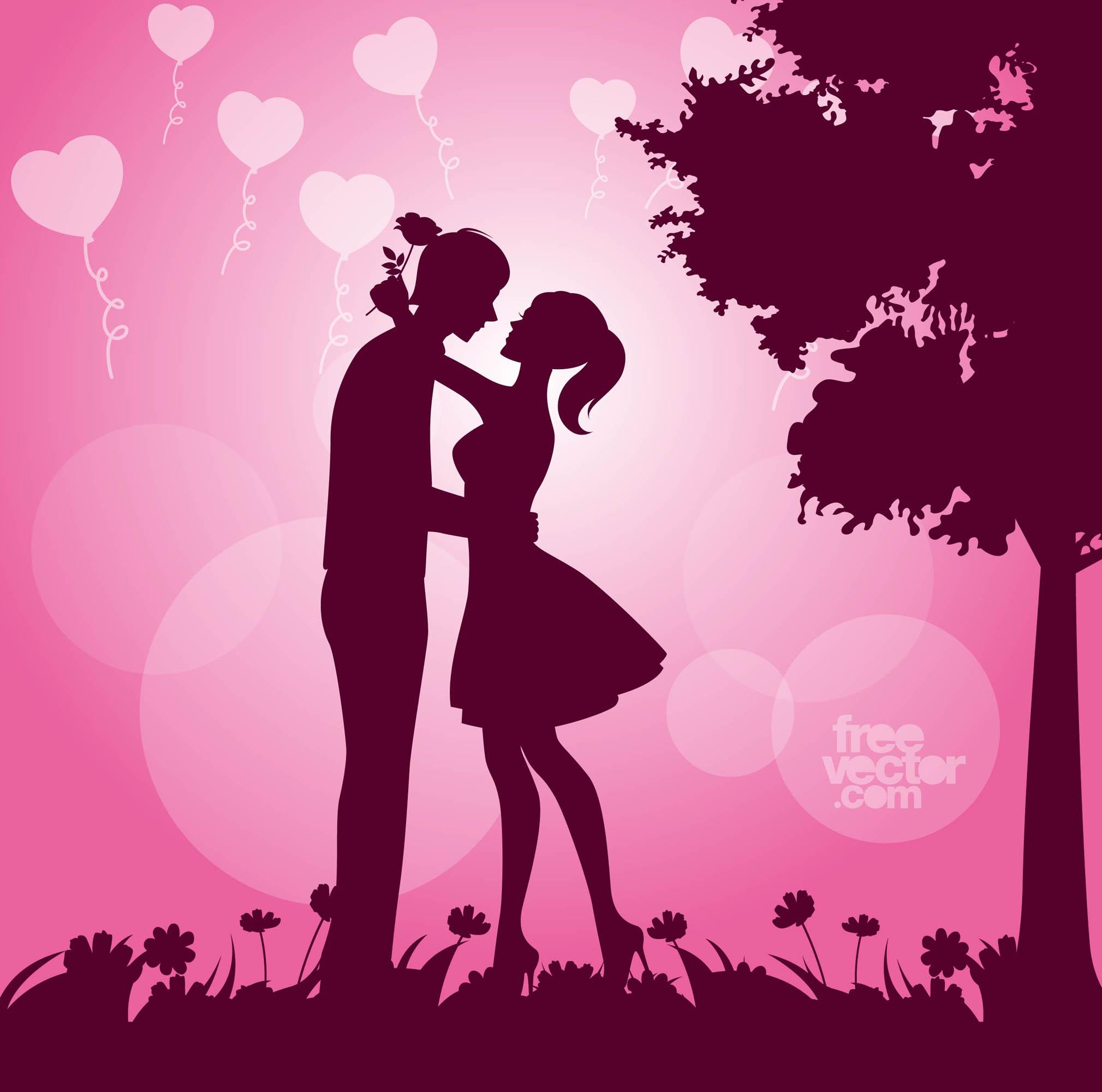 Boy Proposing Girl Hd Wallpaper Valentine Vector Art Amp Graphics Freevector Com