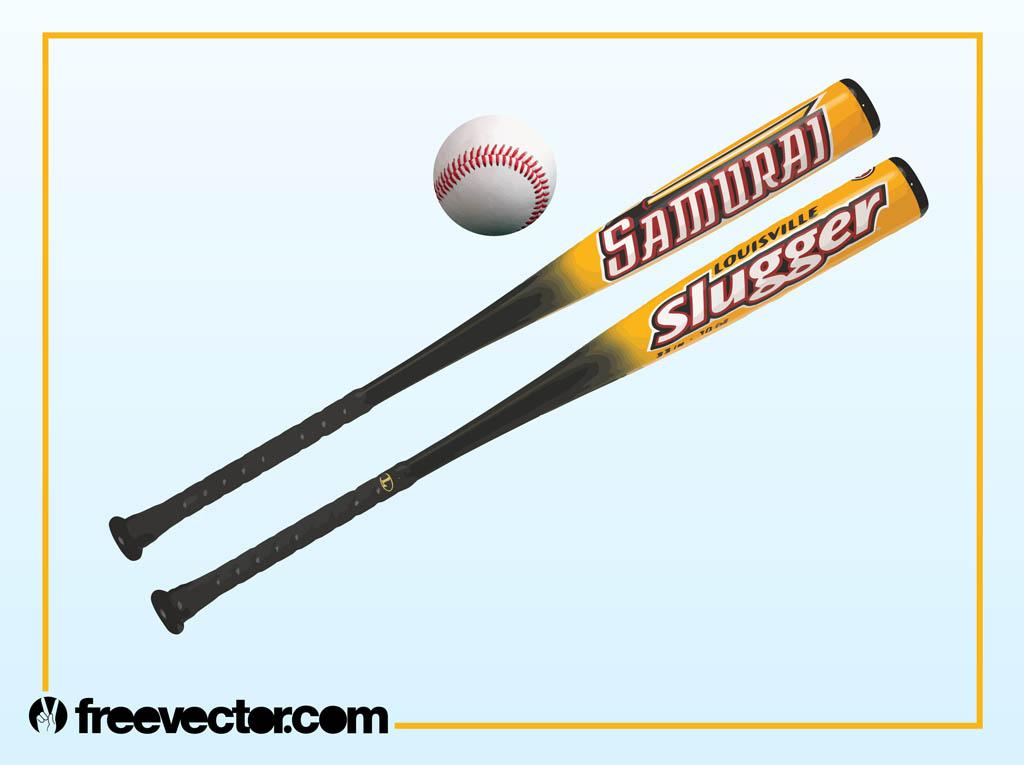 Baseball Bats Vector Art  Graphics freevector