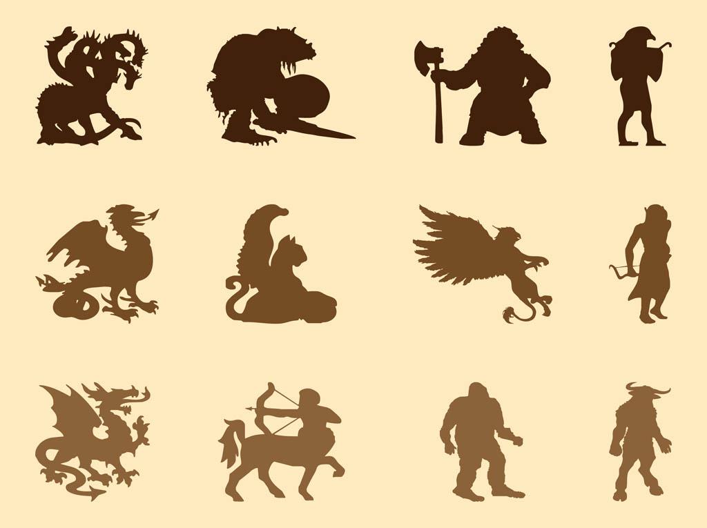 When Was Calendar Created Mythological Creatures The Mythological Creature Quiz Lifescript Mythological Creatures Graphics Vector Art And Graphics