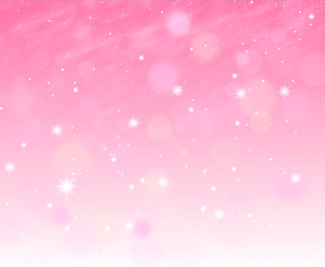 Cute Baby Angel Wallpaper Free Vector Pink Sparkle Background With Starry Lights