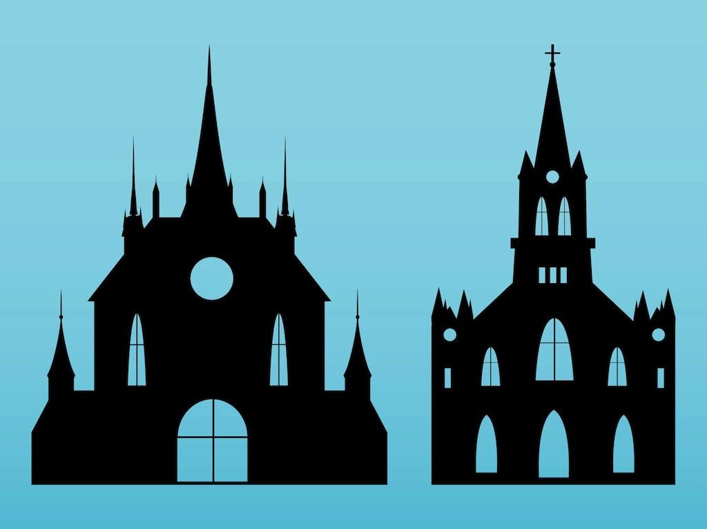 Churches Vectors Vector Art  Graphics freevector