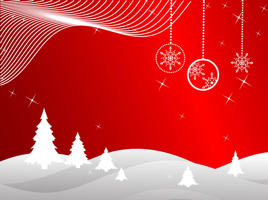 Christmas Background Vector Vector Art  Graphics freevector