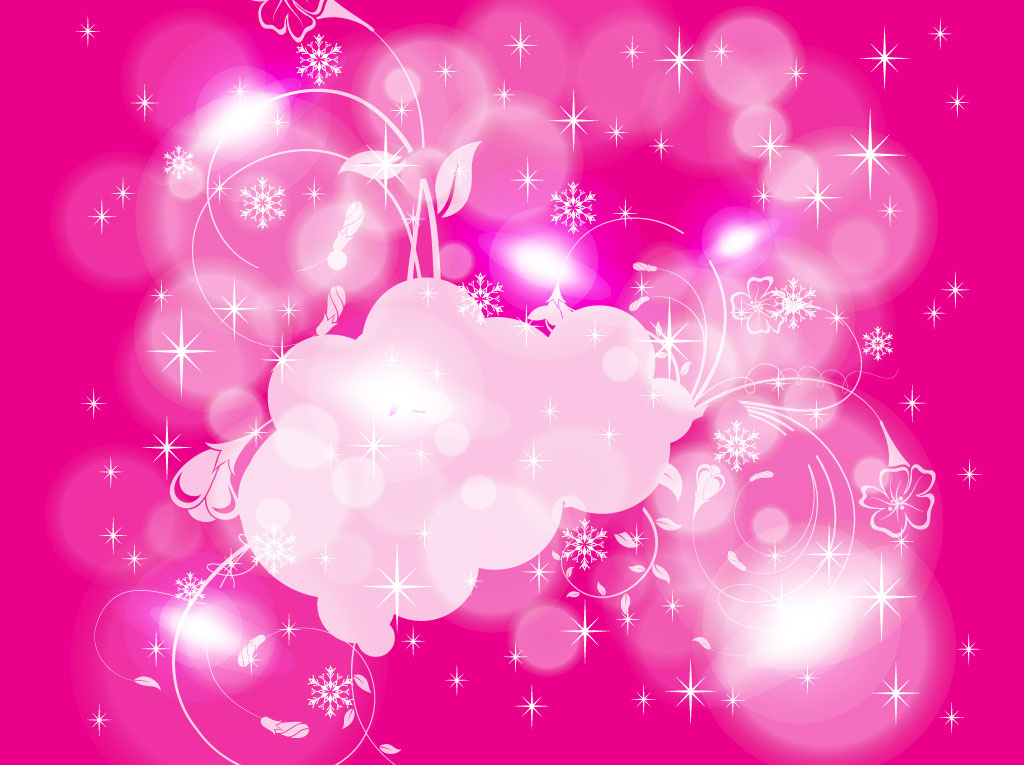 Cute Pink Glitter Wallpapers Pink Winter Background Vector Art Amp Graphics Freevector Com