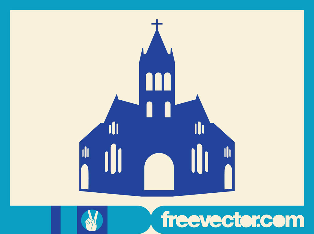 Christian Church Vector Art  Graphics freevector