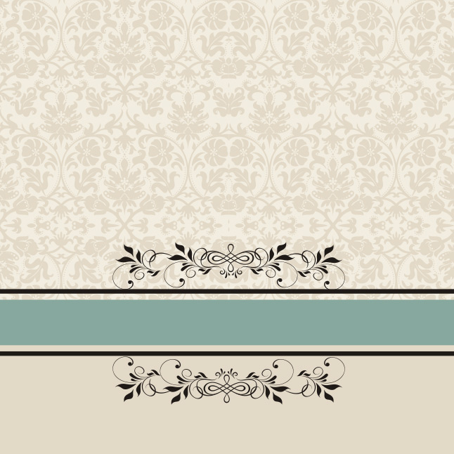 Creative Fall Wallpaper Vintage Patterned Background Vector Vector Art Amp Graphics