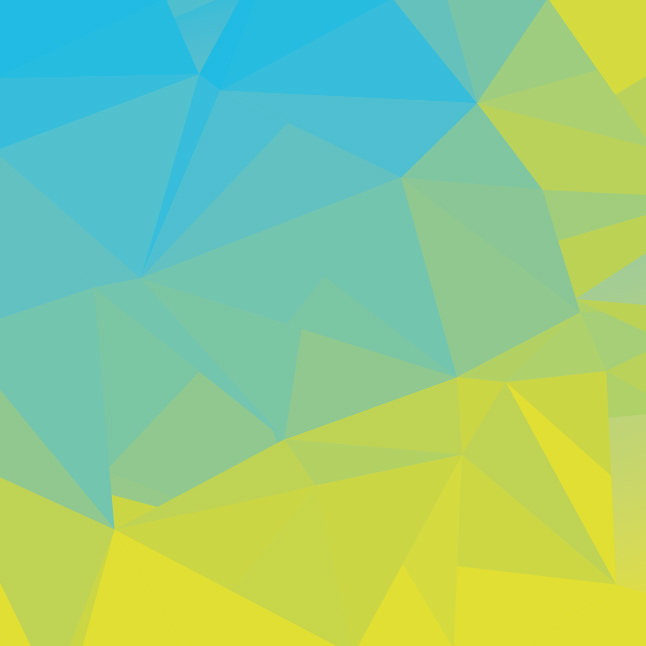 Blue Green Simple Abstract Polygonal Background Vector Vector Art