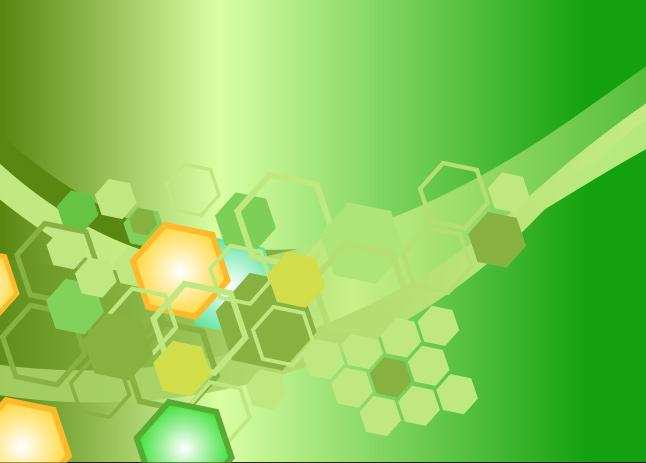 Blue Neon Hd Wallpaper Bright Green Hexagon Background Vector Vector Art