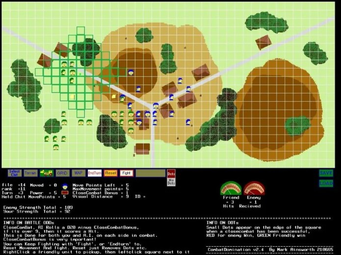 Combat Domination Screenshot from Version 0.24