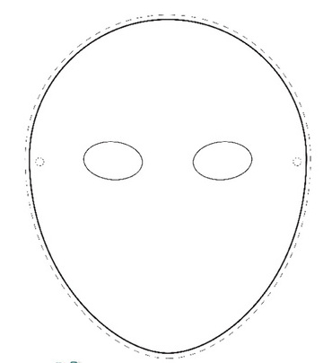 template for face mask - 28 images - mask template, blank mask - paper face mask template
