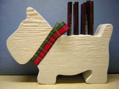Free Woodworking Plans Scotty Dog Pen And Pencil Holder