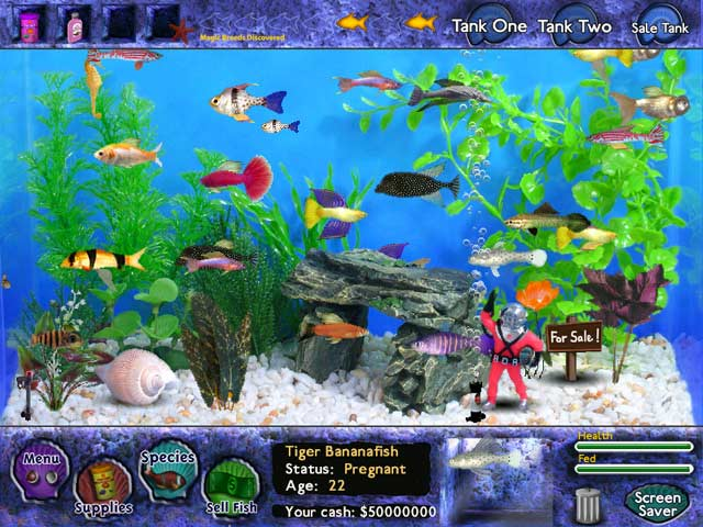Fish Tycoon : Free Online Games Arcade Games Free Games Downloads