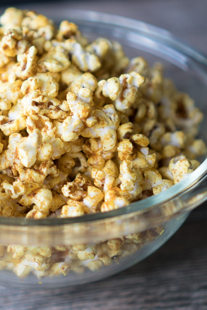 Sweet and Salty Curry Popcorn | Free Your Fork