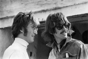 (FILE) John Lennon And George Harrison Blue Plaque Unveiling