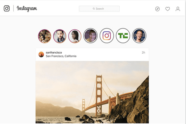 Ahora podrás ver las Instagram Stories desde tu computadora