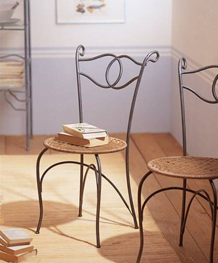 Chaise fer forgé fer forgé Pinterest Stools