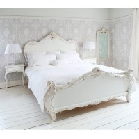 Provencal Sassy White French Bed, French Bedroom Company