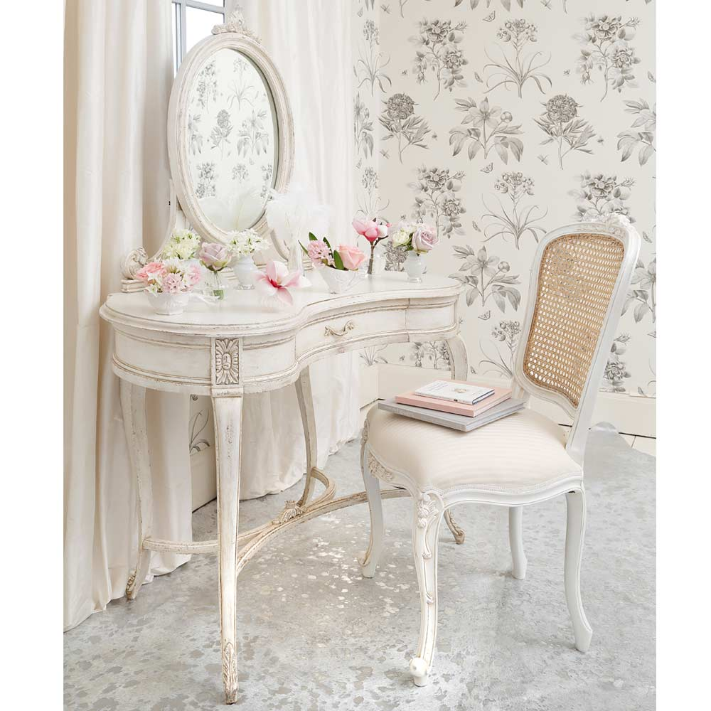 Beautiful Girl Bedroom Wallpaper Delphine Shabby Chic Dressing Table French Bedroom Company