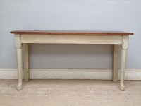 A3444 OLD KITCHEN SIDE TABLE / CONSOLE TABLE