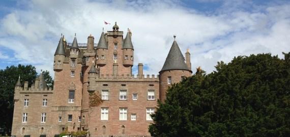 Glamis Castle, entre romance et histoires de fantômes