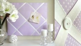 Fabric Pin Board Girl