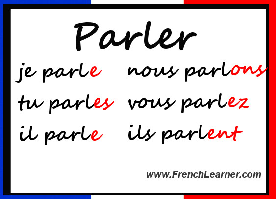 French Verb Practice charts French verbs Language and Teaching