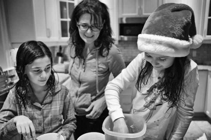 Nourriture pour les rennes du Père Noël
