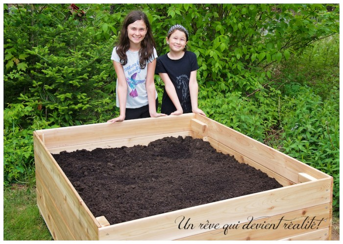 Notre premier jardin!