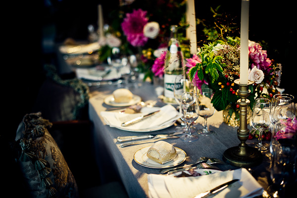 Chateau Chic Style Part 2 Table Decoration