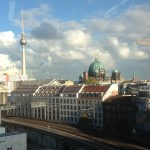 skyview of Berlin