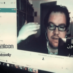 Sinan Antoon, NYU professor, on Skype