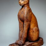 Brooklyn Museum: Figure of a Cat, Egypt