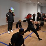Rashaad Newsome, FIVE performance view, March 2014
