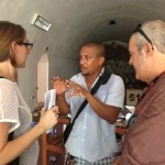 Susan Caraballo, Luis Gomez, and Antonio Gomez Margolles