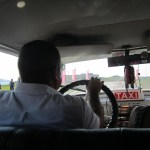 Taxi to La Cabaña, Havana biennial site