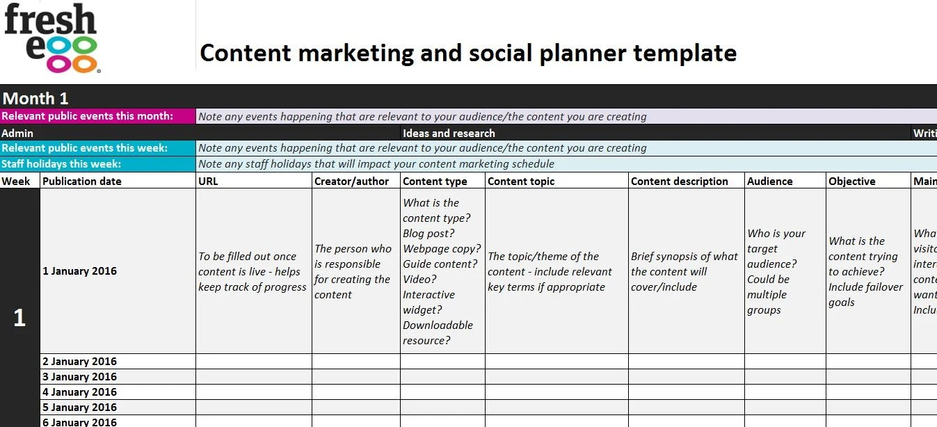 Make Google Calendar Events Get Started With Calendar Google Learning Center 6 Steps To Creating A Content Marketing And Social Plan