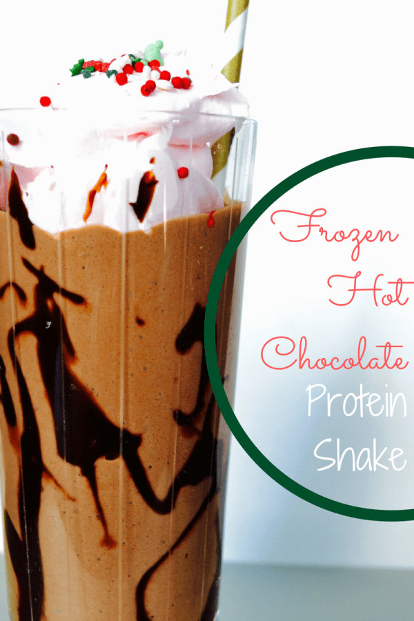 Frozen Hot Chocolate Protein Shake | Fresh Fit Florida