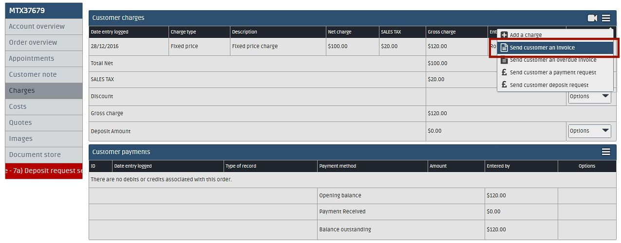 Flobot Academy Day Three - How to add charges  send invoices FMS - how to send invoices