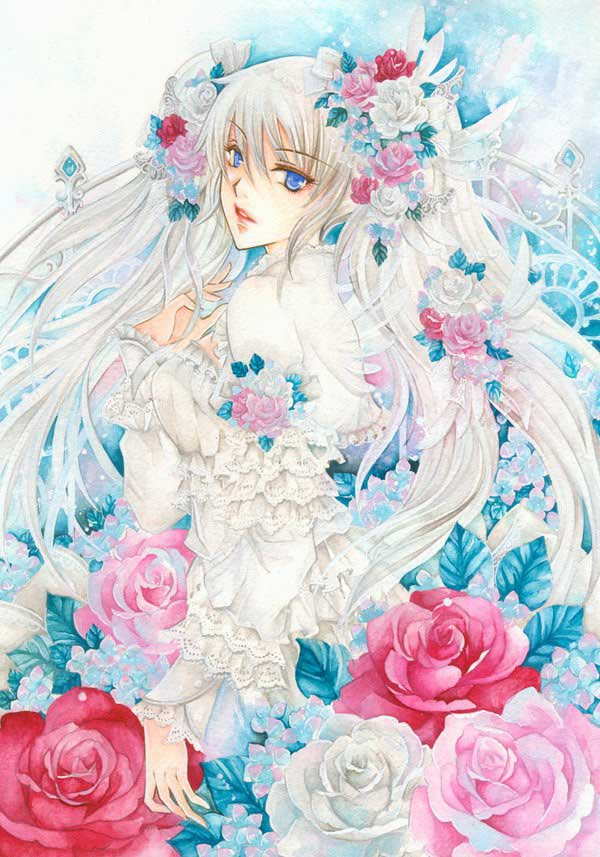 Pretty Girl Quotes Wallpapers 24 Beautiful Anime Drawings Freshmorningquotes