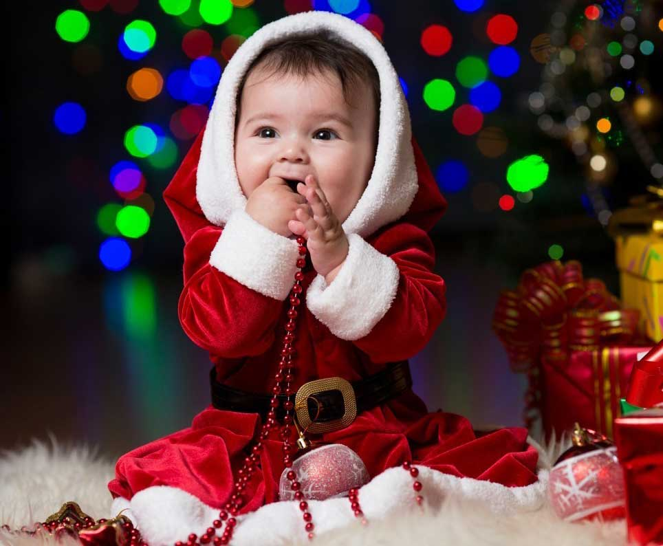 Cute Baby Girl Wallpapers For Facebook Cover Cutest Christmas Baby Profile Dp For Whatsapp