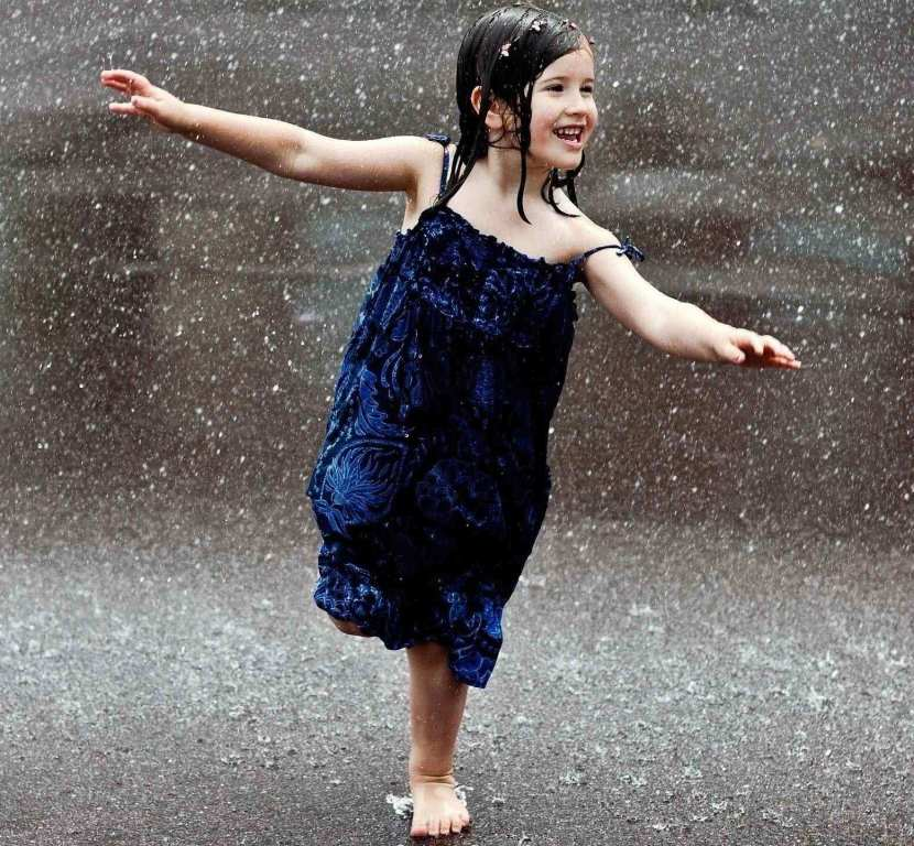 Cute Indian Girl Baby Photos Wallpapers Girl In Rain Profile Dp For Whatsapp And Facebook