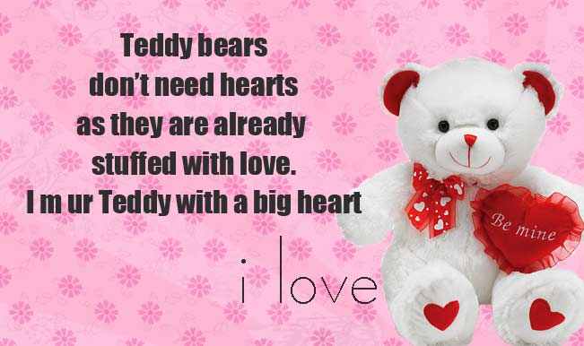 Download Heart Touching Quotes Wallpapers Teddy Bear Day 2018 Quotes Sayings And Images