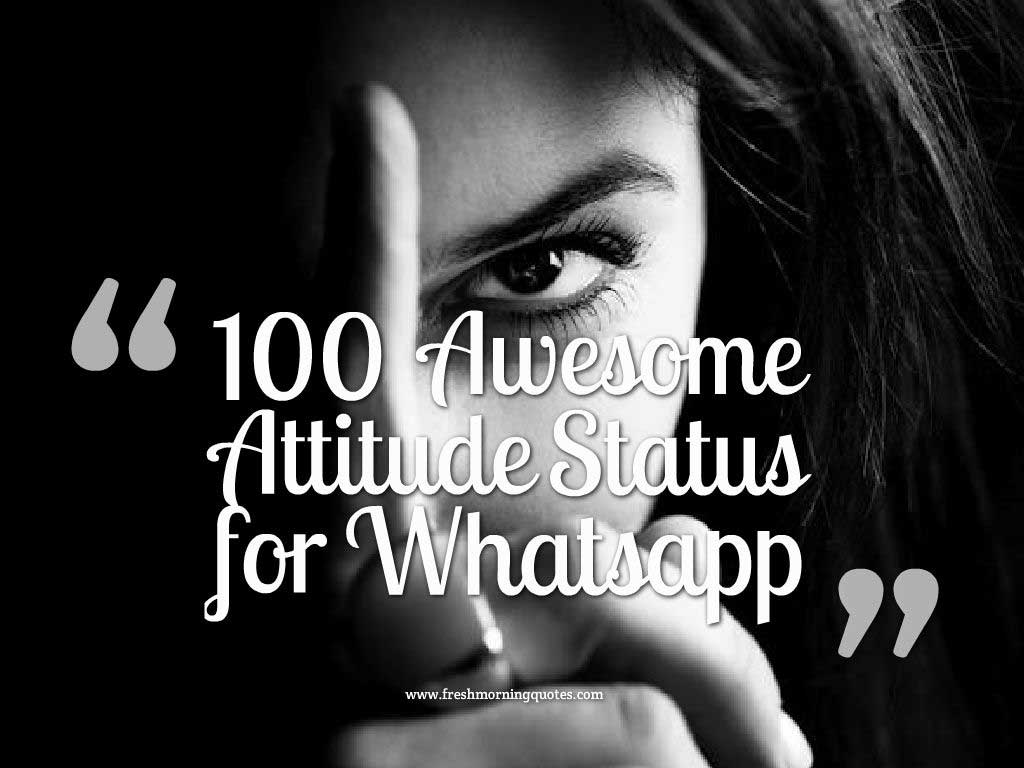 Cute Fall Wallpaper Iphone 100 Awesome Attitude Status For Whatsapp Freshmorningquotes