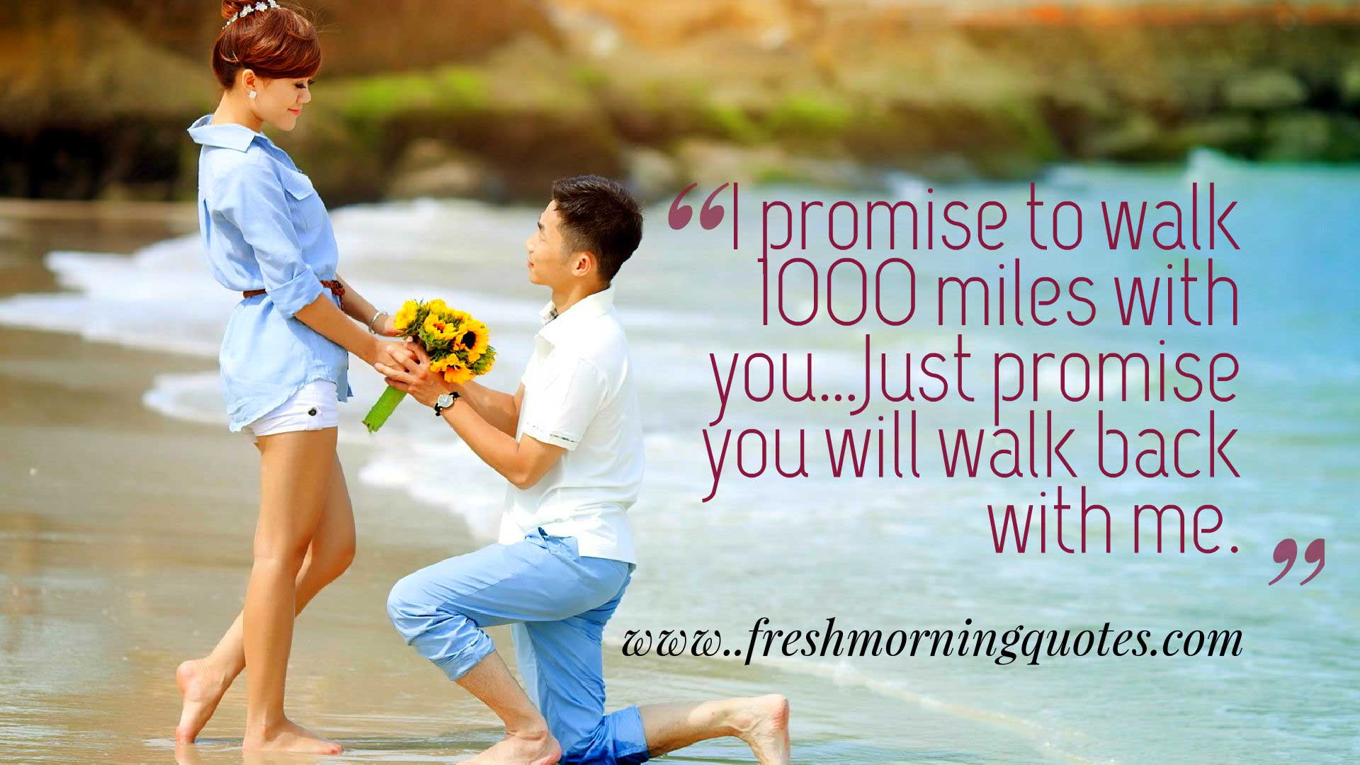 Broken Promises Quotes Wallpapers 42 Heart Touching Love Promise Quotes Freshmorningquotes