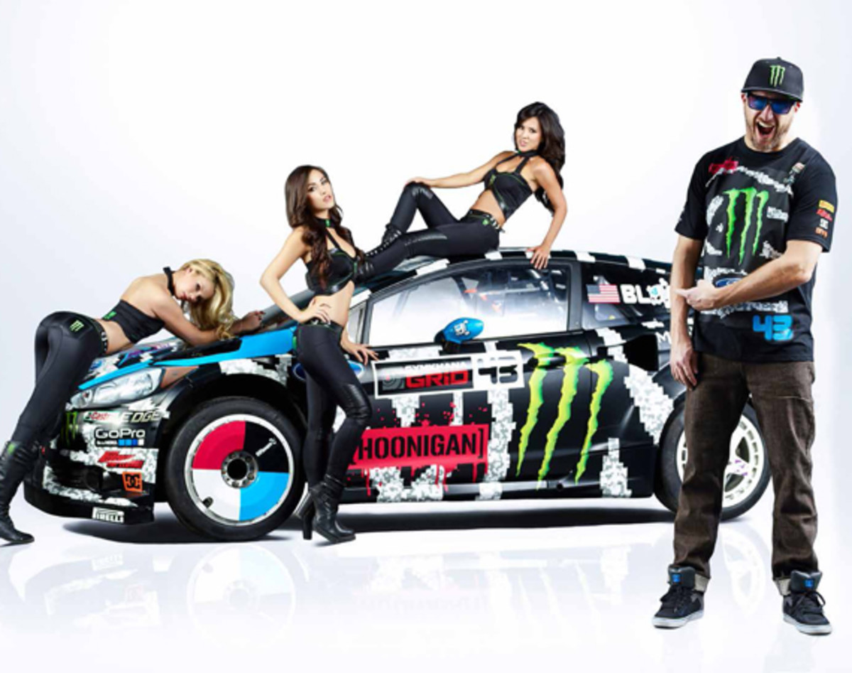 Hoonigan Cars Wallpaper Ken Block S 2014 Ford Fiesta Racecar By Hoonigan Racing