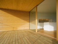 Balcony, Wood Flooring, Walls, Ceiling, Modern Countryside ...