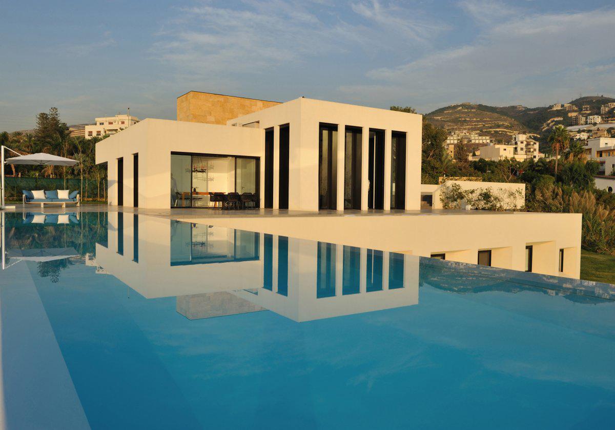 download infinity pool striking oceanfront house in jbeil lebanon bathroom designs